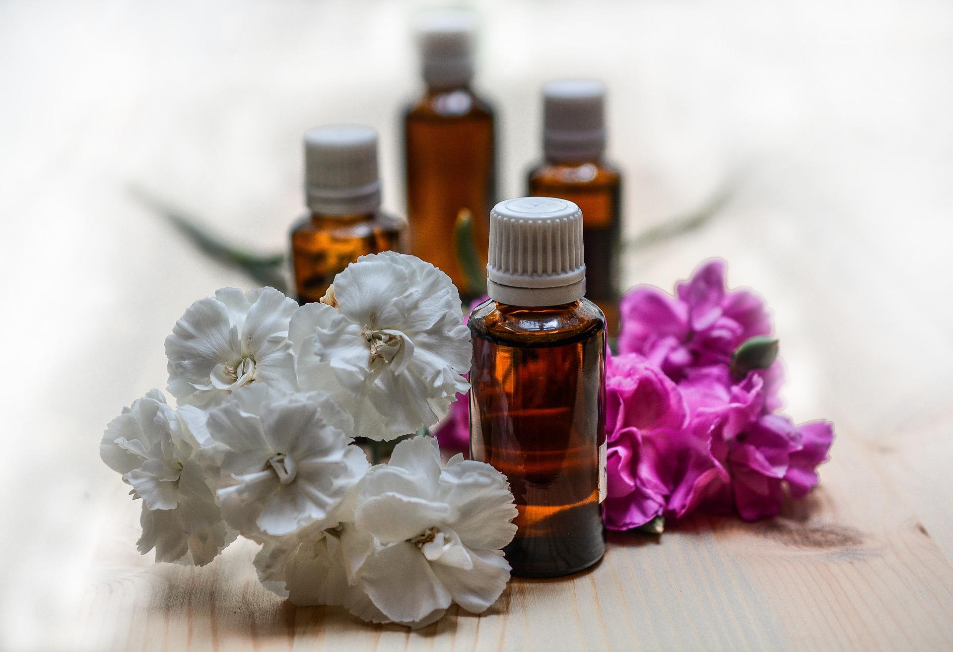 Öle und Blumen