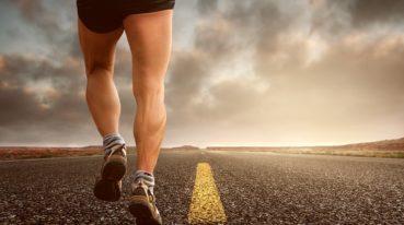 Straße und Bein